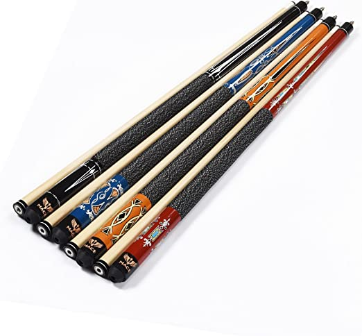 Mace 2 Piece 57 Centímetros Hartholz Billar – Stick Deluxe Pool ...