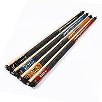 Mace 2Piece 57zentimeter hartholz biliardo–Stick Deluxe Pool casa in legno e w/Irlandese Wrap acciaio comune, Multi–Colori