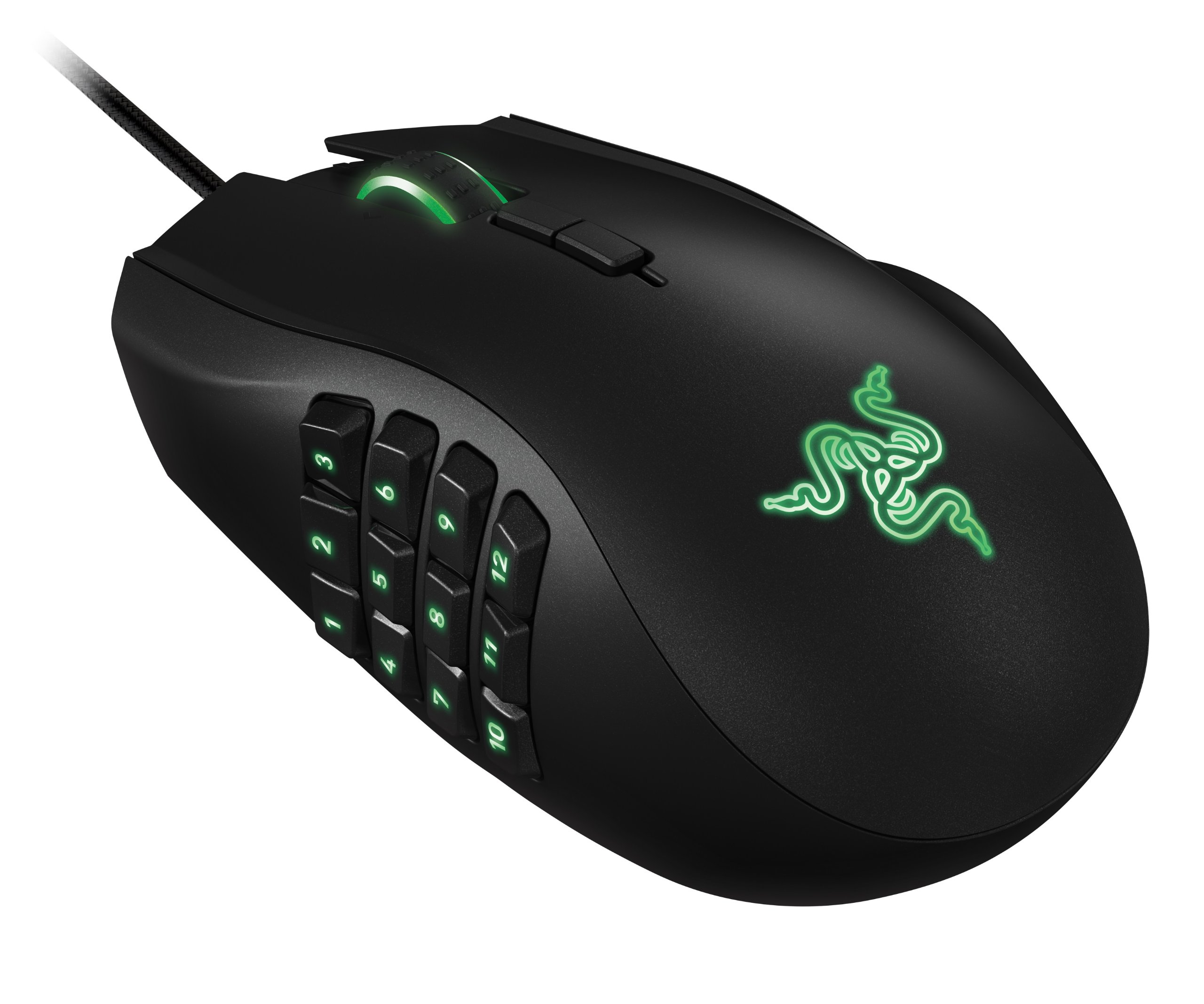 Razer Naga 2014 Ergonomic MMO Gaming Mouse - Black