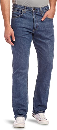 TALLA 42W / 32L. Lee Brooklyn Straight Jeans para Hombre