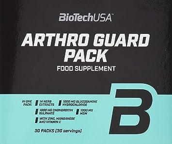 BiotechUSA Arthro Guard Pack 30 Packs: Amazon.es: Salud y cuidado ...