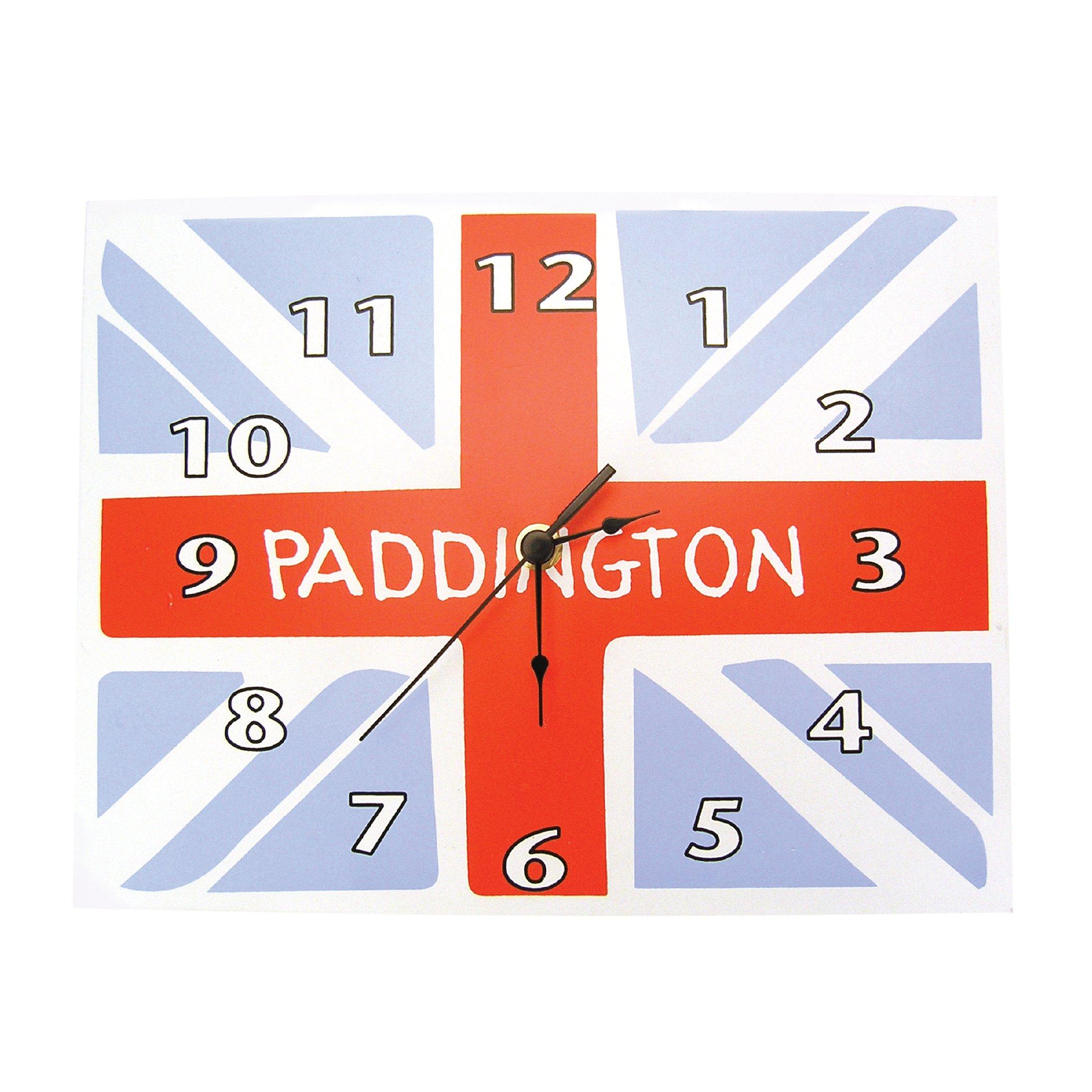 Trend Lab Paddington Bear Wall Clock, Union Jack