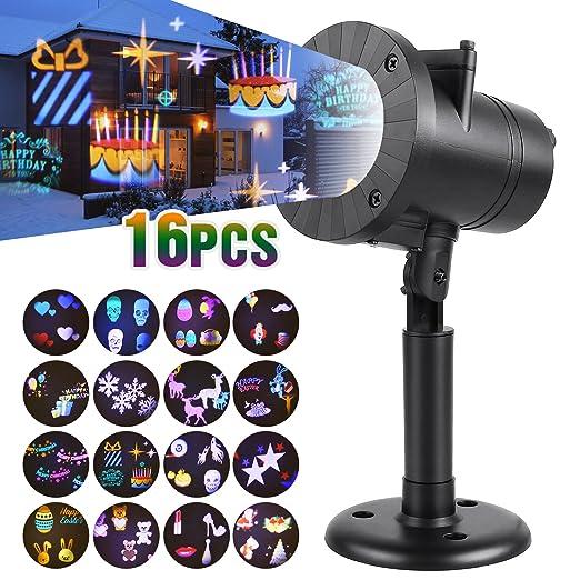 Amazon.com: Femor LED Proyector luces de navidad, 6 W ...