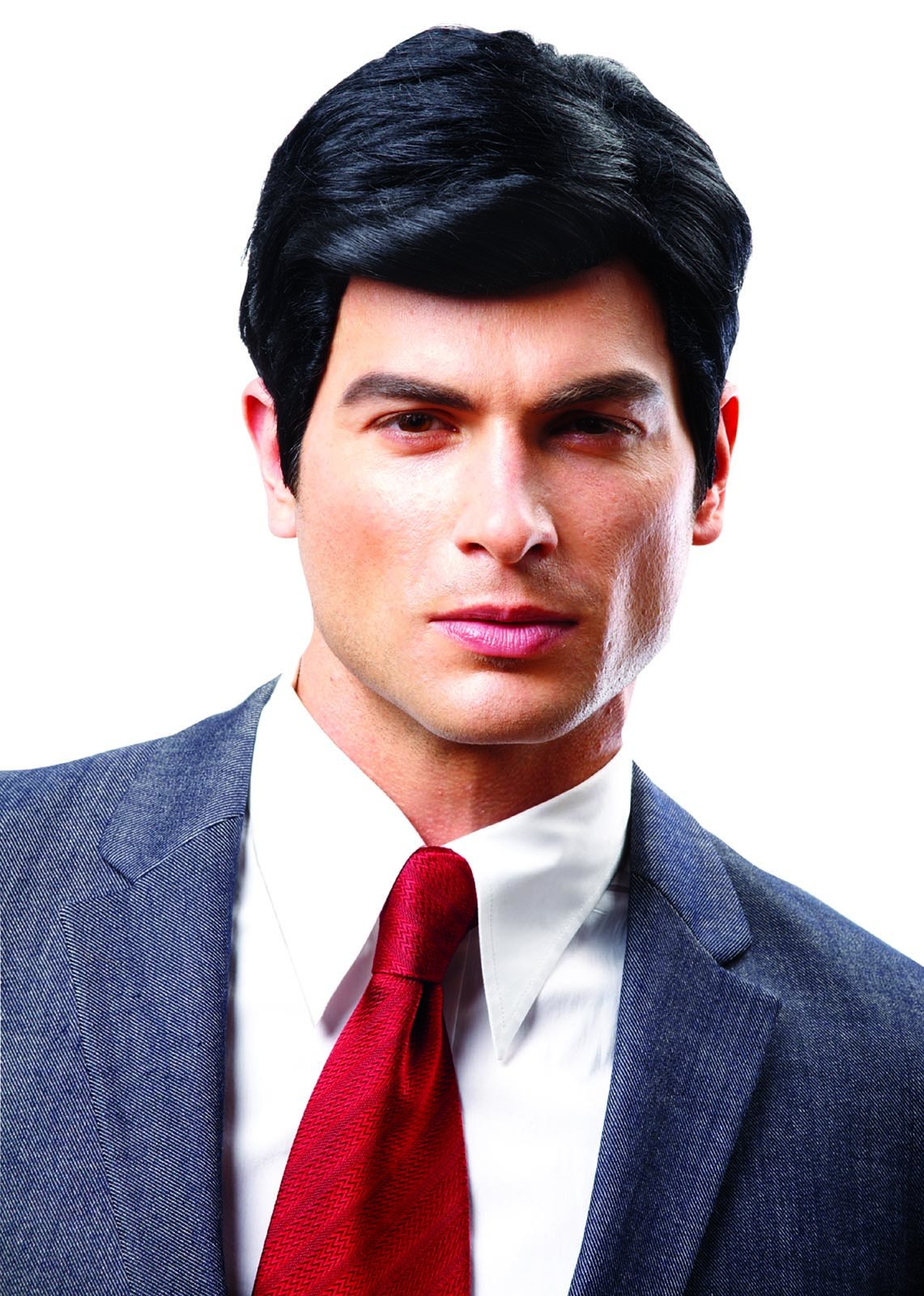 Costume Culture Men's Real Man Wig, Black, One Size