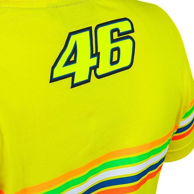 VR|46 Valentino Rossi - Camiseta de Mujer - The Doctor 46 - Tiras Diseño - MotoGP 2018: Amazon.es: Deportes y aire libre