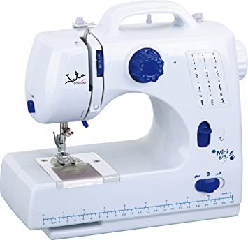 Jata MMC675N - Máquina de Coser Mini (2 velocidades): Amazon.es: Hogar