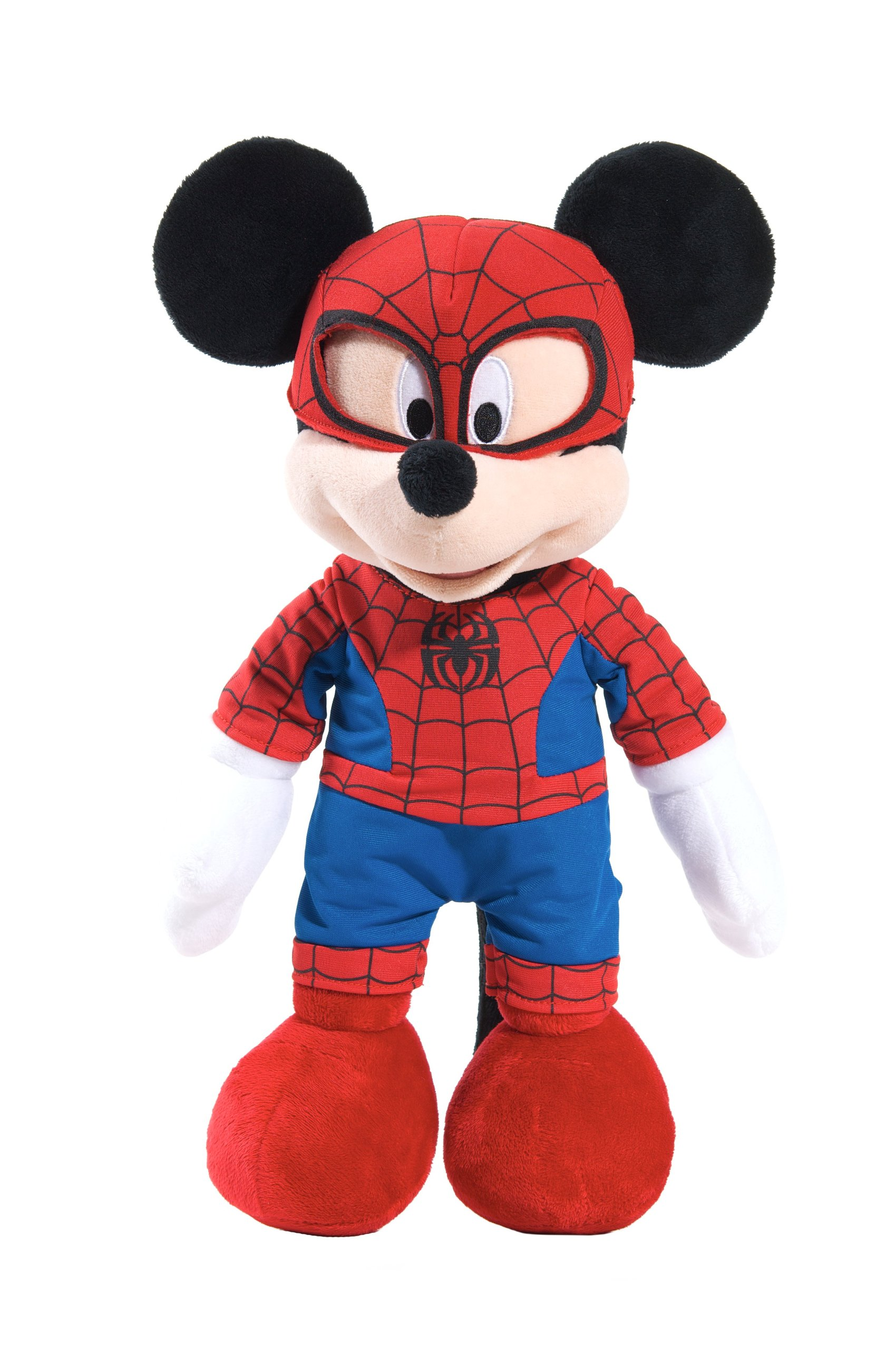 Marvel Disney Themed Mickey as Spiderman Plush by Just Play