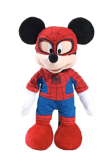 Marvel Disney Themed Mickey as Spiderman Plush