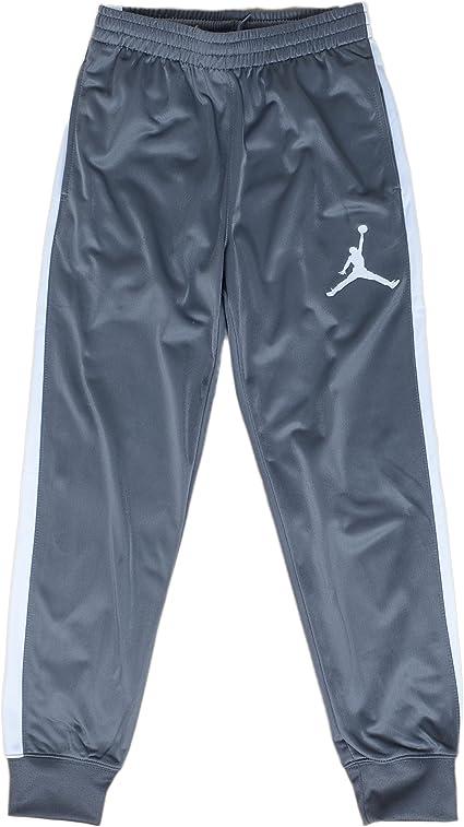 Nike Jordan Pantalones Deportivos Para Ninos Grandes Delgado Gris Blanco 8 10 Years Amazon Com Mx Ropa Zapatos Y Accesorios