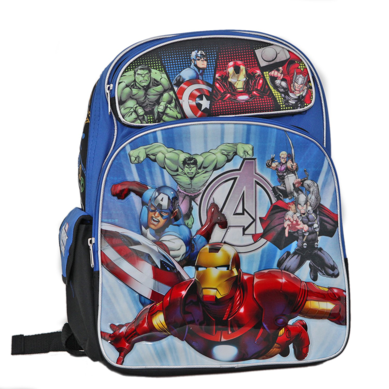 Backpack - Marvel - Avengers Assemble Large School Bag New 612184 B00KGSZQJQ