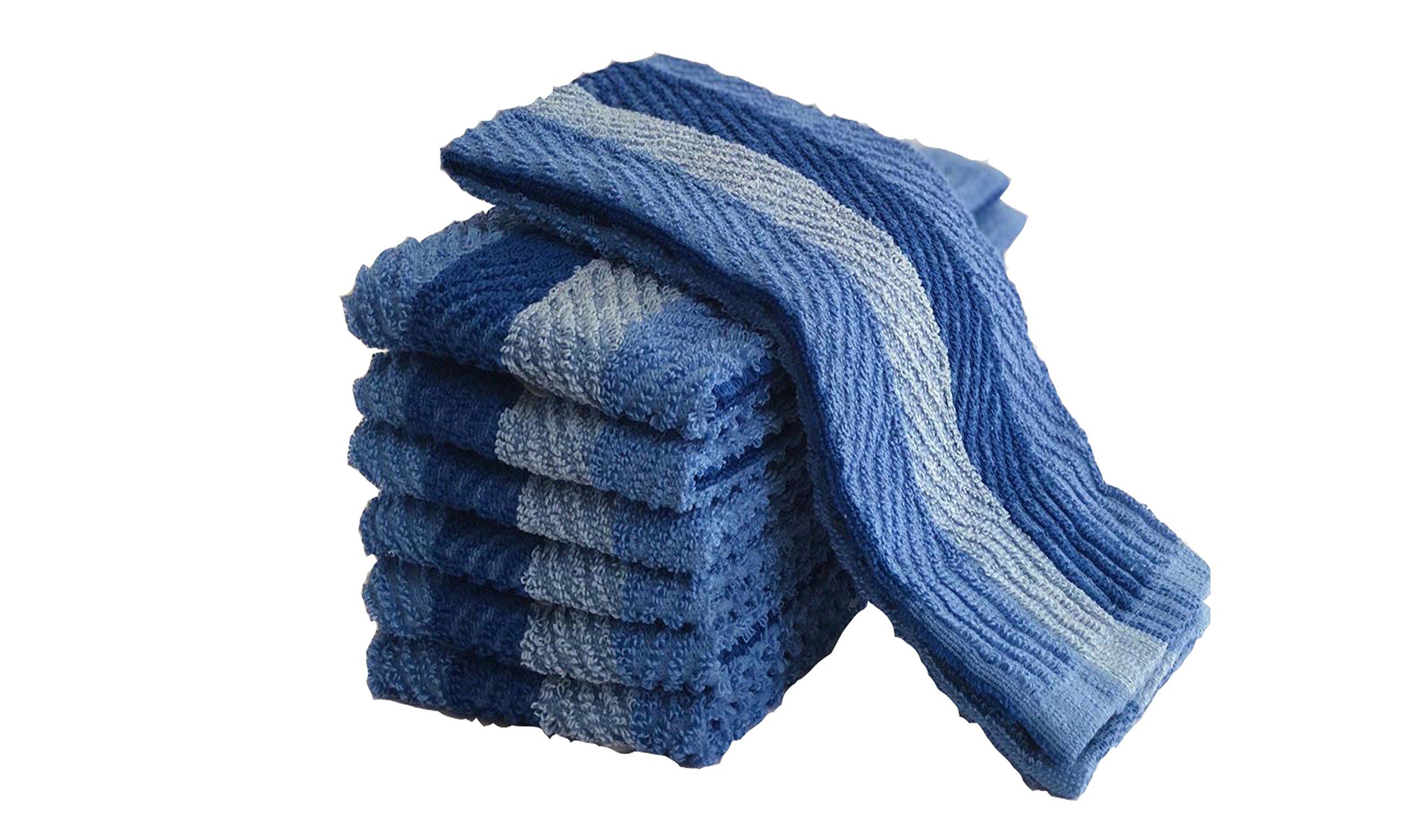 Exclusive Kitchen Towel, 6 Pack (blue)