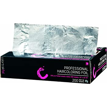 Colortrak Professional Pop-up Coloring/Highlighting Foil Sheets (2 boxes x 200 count each)