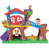 Weebles Deluxe Treehouse Playset