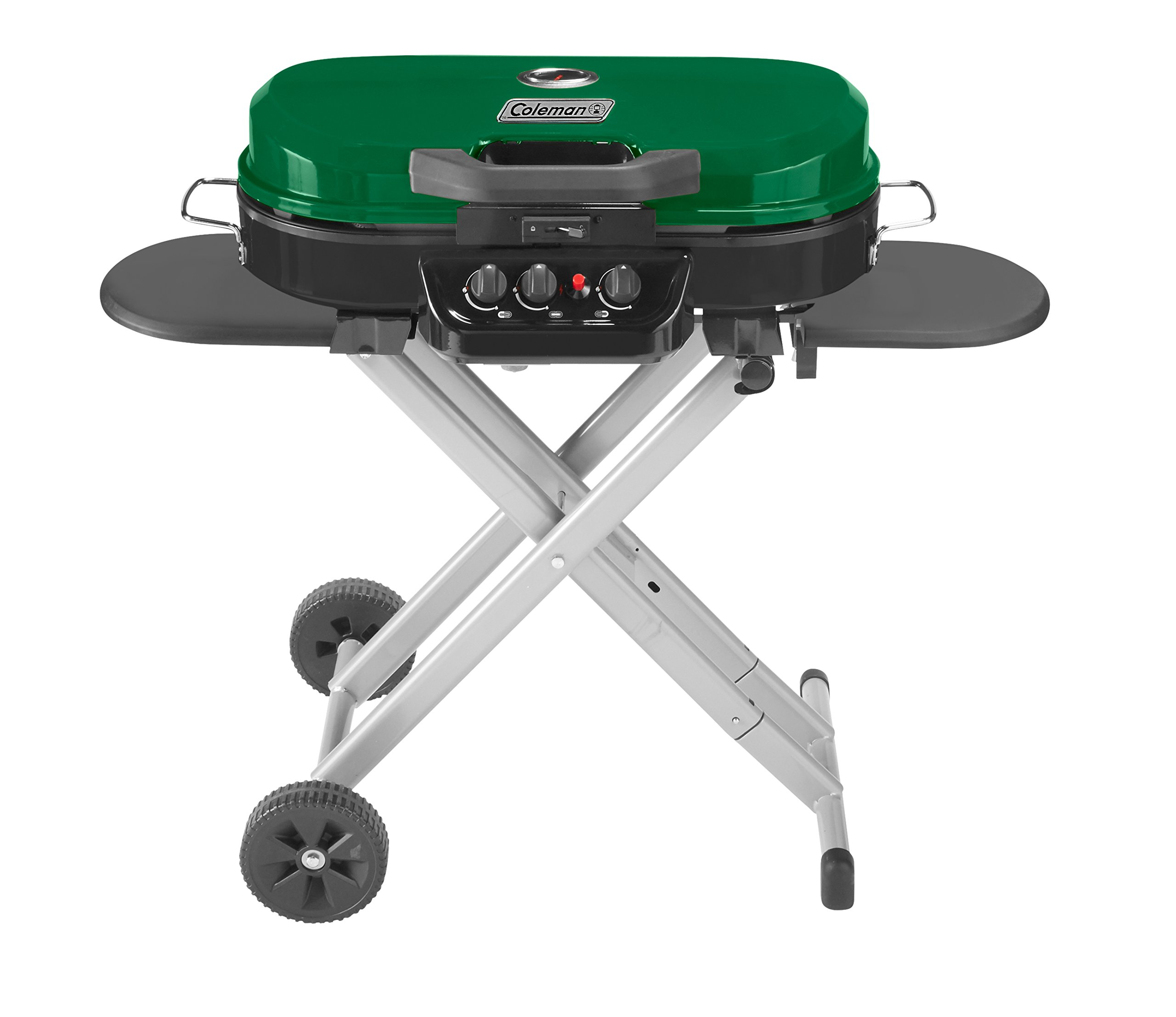 Coleman RoadTrip 285 Portable Stand-Up Propane Grill, Green by Coleman
