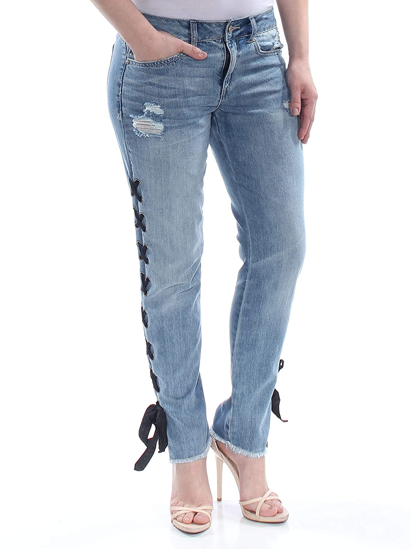 Amazon.com: Pantalones vaqueros de encaje para niños de ...
