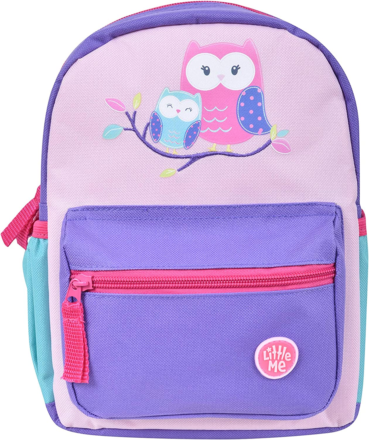 Little Me Owl Backpack with Safety Harness Leash Child Baby Toddler Travel