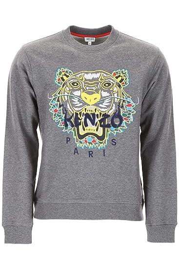 6d7c77ee302 Kenzo Men s Grey Dragon Tiger Sweatshirt  Amazon.co.uk  Clothing