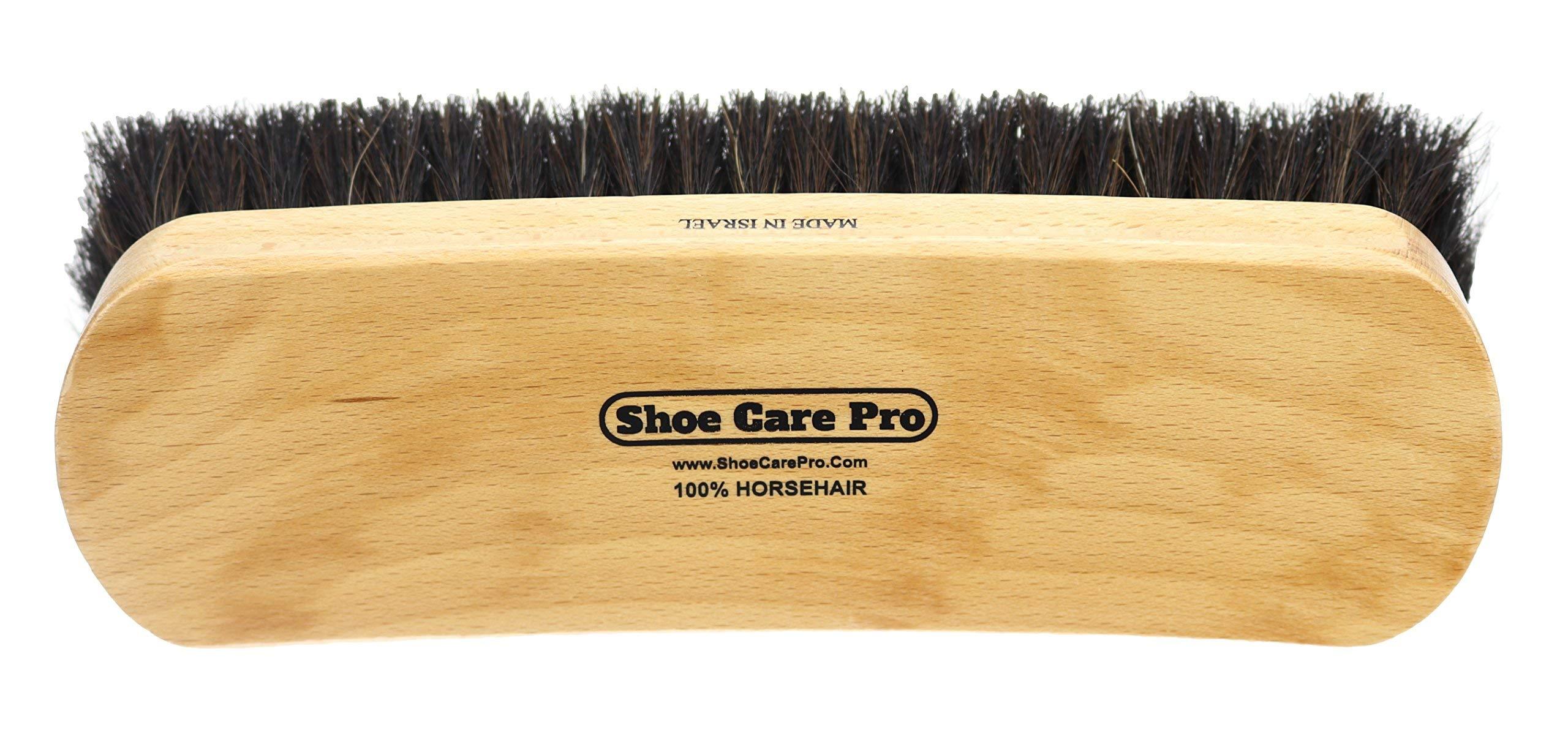 Cepillo profesional para pulir zapatos de 8 pulgadas. Cepill