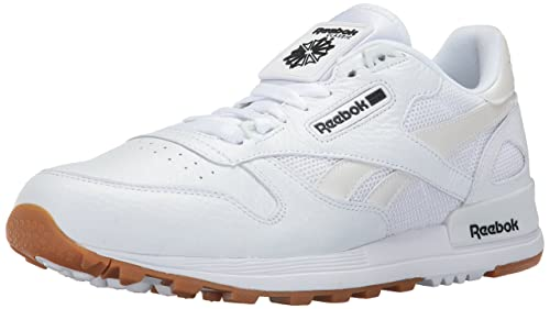 on sale f64ed 2bc4a Reebok Men s CL Leather 2.0 Fashion Sneaker, White Black Gum, ...