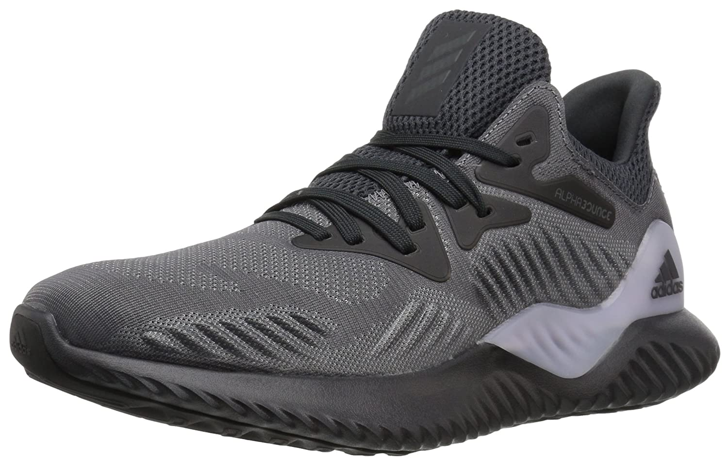 adidas Women's Alphabounce Beyond W Running Shoe B0719HP647 12 B(M) US|Grey Four/Carbon/Dark Solid Grey