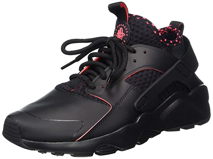 Nike Air Huarache Run Ultra SE Schuhe Herren Schwarz (Black/Solar Red)