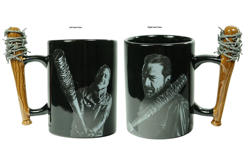 Amazon.com: The Walking Dead negan & Lucille 15oz Taza de ...
