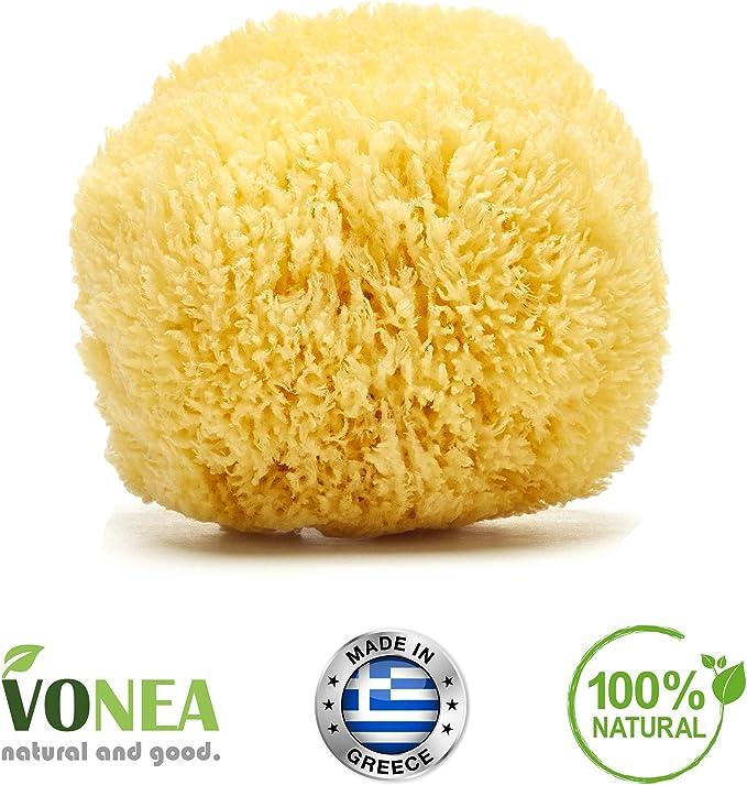 Vonea - Esponja de baño (12-13 cm): Amazon.es: Belleza