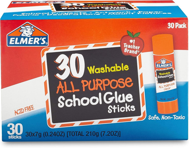5x GLUE STICK Washable Kids Children School Arts Craft For Card Paper Sticking