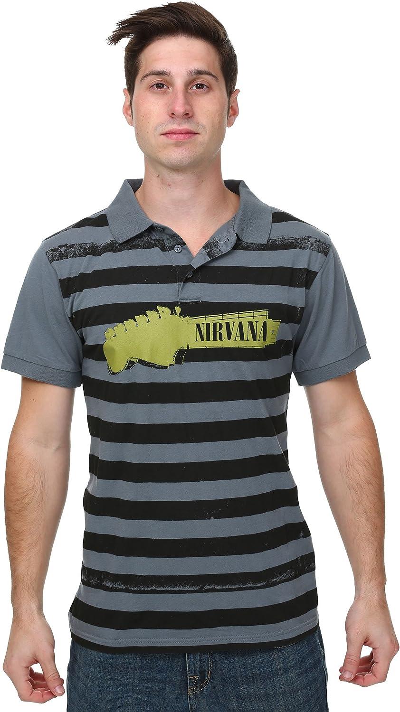 FEA Merchandising Nirvana Mens Polo T-Shirt Medium