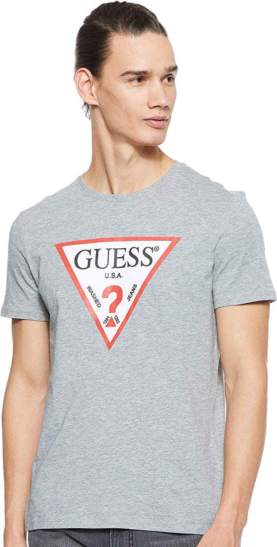 Guess Cn SS Original Logo Camiseta de Tirantes para Hombre