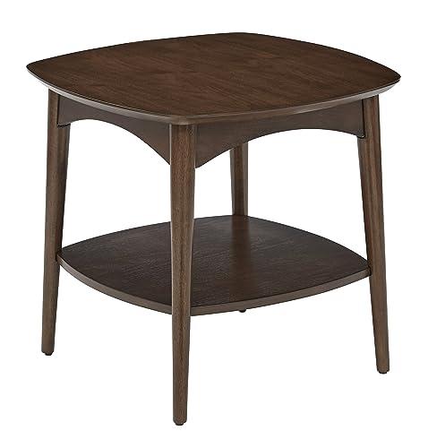 OSP Designs Copenhagen Accent Table, Walnut