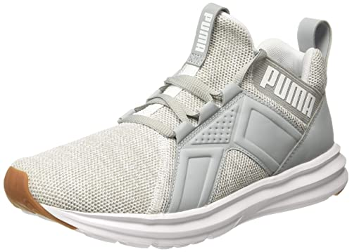 Enzo Knit NM White-Quarry Running Shoe