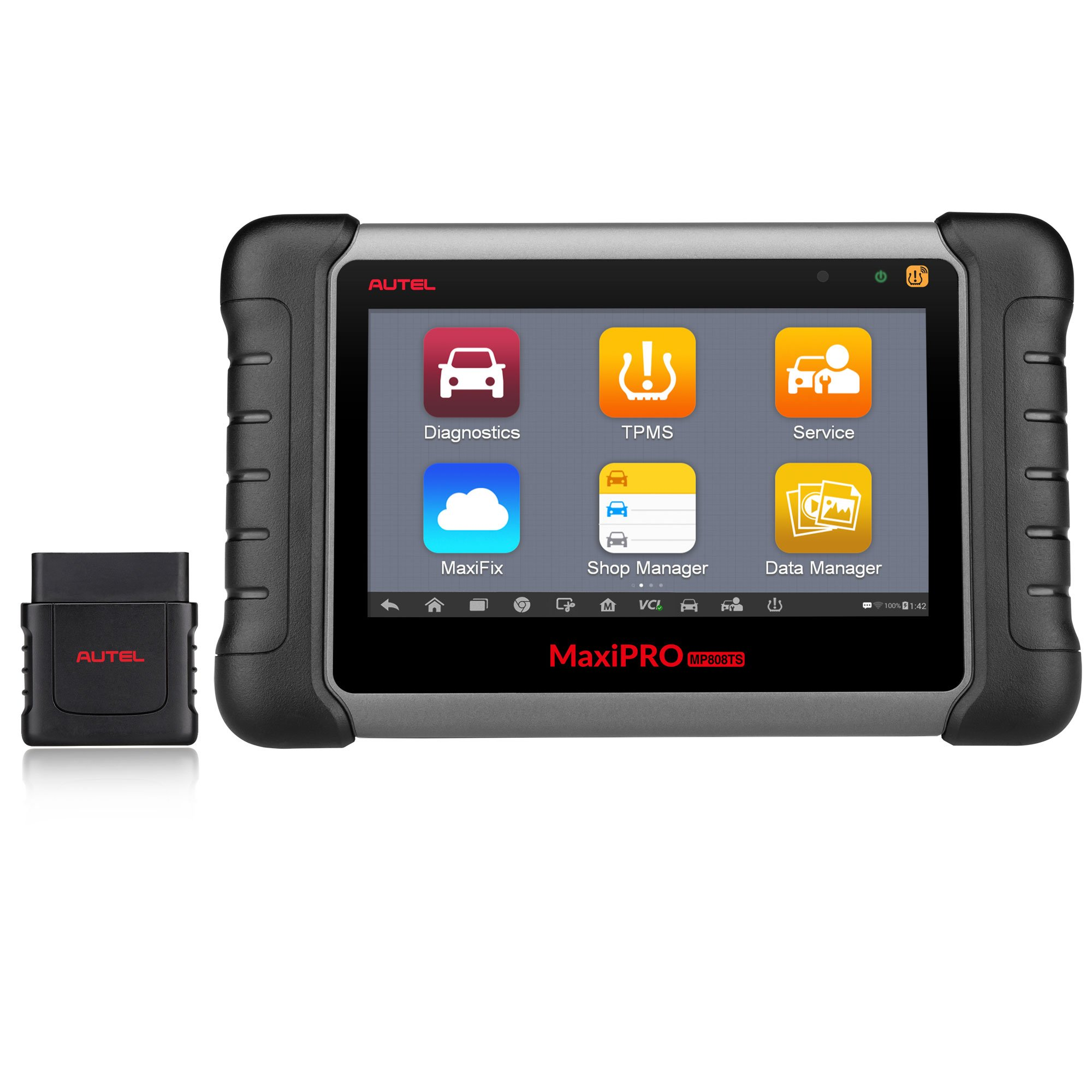 Autel MaxiPRO MP808TS Automotive Diagnostic scanner tool (Prime version of Maxisys MS906TS) combining Comprehensive TPMS Service Functionality and Advanced Diagnostics with Wireless Bluetooth