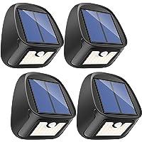 4-Pack Erligpowht Solar 29-LED Motion-Sensor Waterproof Security Lights (Black)