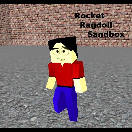 (Rocket Ragdoll Sandbox)