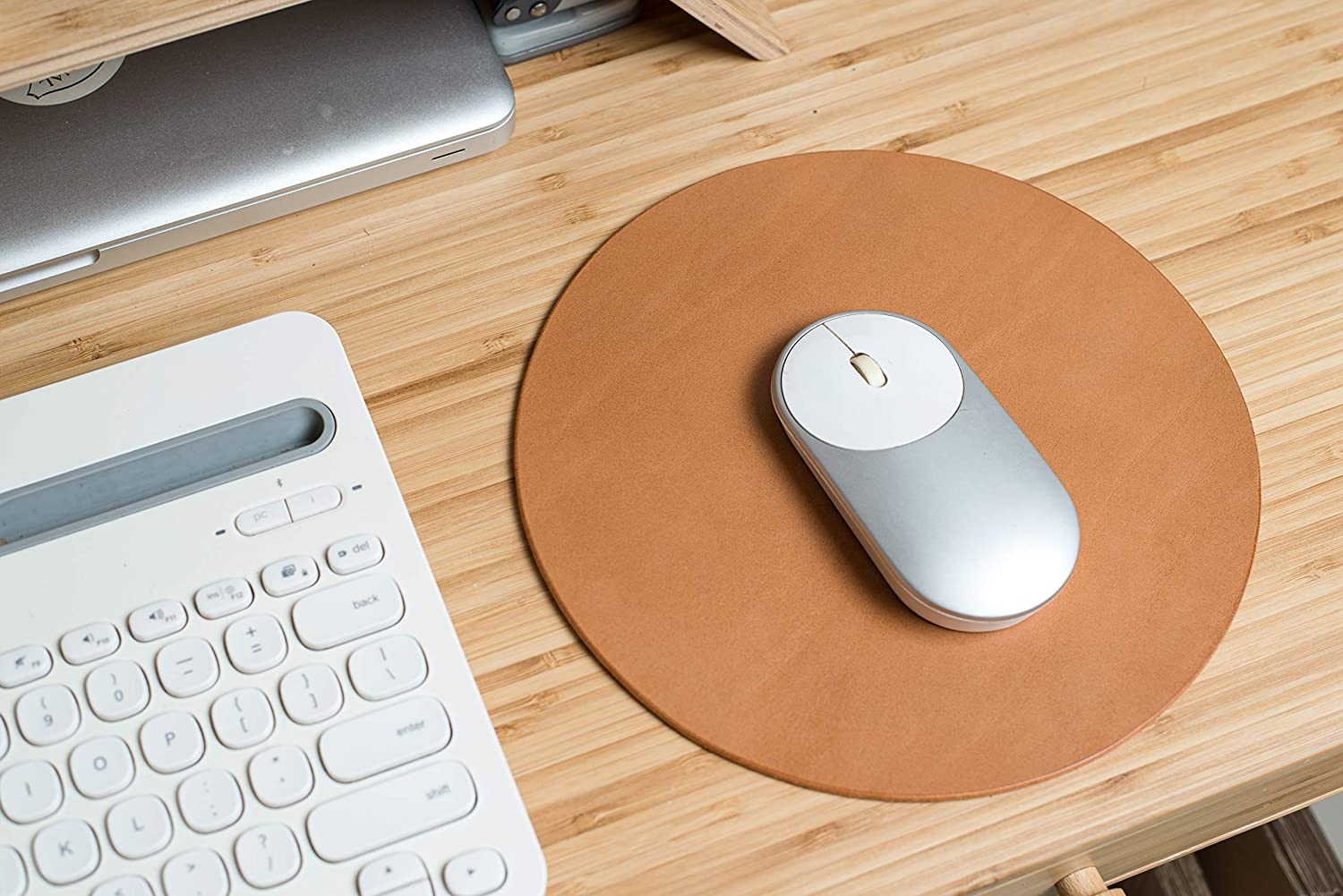 Personalized Leather Mouse Pad Limited Edition Colors