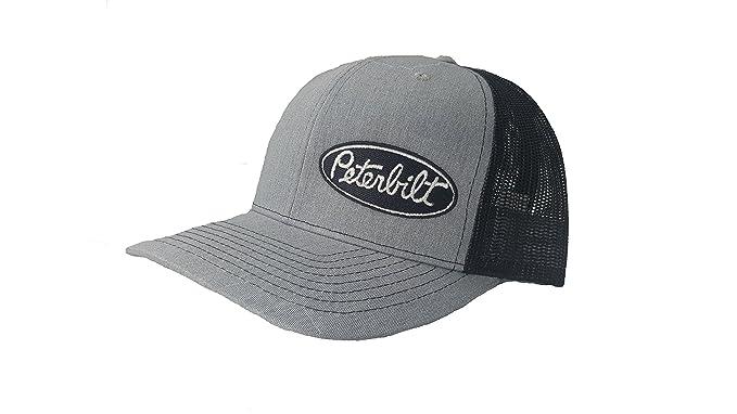 1b3ec25ff9a Image Unavailable. Image not available for. Color  Richardson 3D Puff  Peterbilt Logo Emblem Hat ...