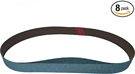 36 Pack, 100 Grit 1 X 30 Inch Sanding Belts Zirconia Cloth Sander Belts