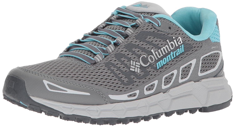 Columbia Montrail Women's Bajada III Trail Running Shoe B072WJBTMG 6 B(M) US|Ti Grey Steel, Coastal Blue