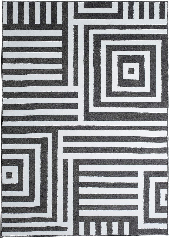 Tapiso Alfombra Salón Moderno Piso Colección Fire – Diseño ...