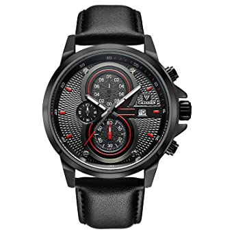 Military Watches Men Business Watches Waterproof Sports Analog Quartz Watch Military Chronograph