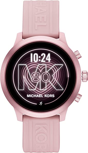 Michael Kors Access MKGO Smartwatch- Lightweight Touchscreen Powered with Wear OS by Google with Heart Rate, GPS, NFC, and Smartphone Notifications