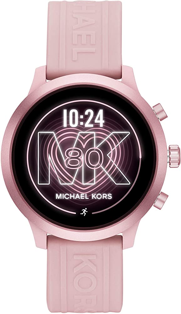 Michael Kors Access Womens MKGO Touchscreen Aluminum and Silicone ...
