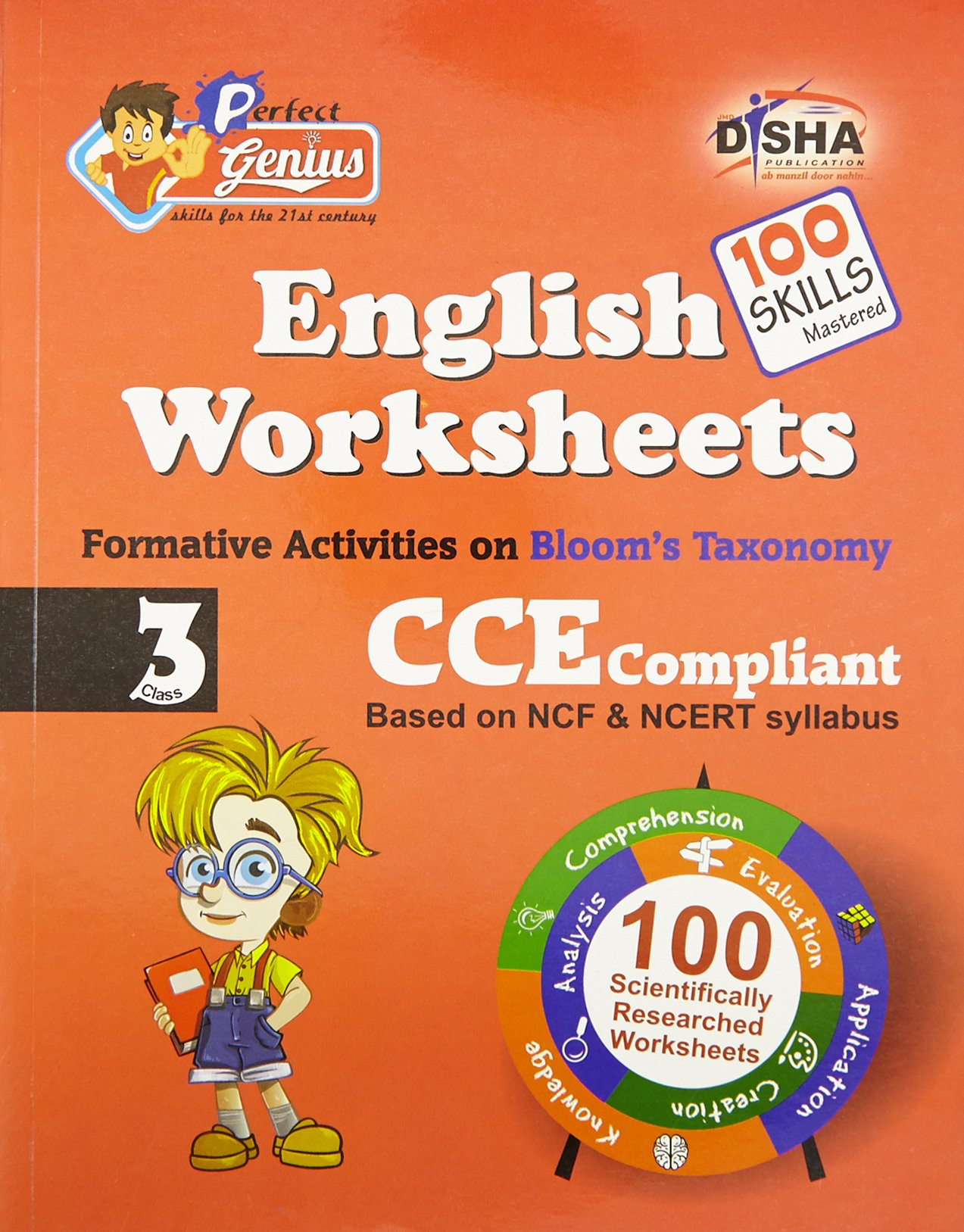 Buy Perfect Genius English Worksheets for Class - 3: Based ...