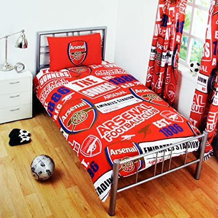 Arsenal Official Single Duvet Set