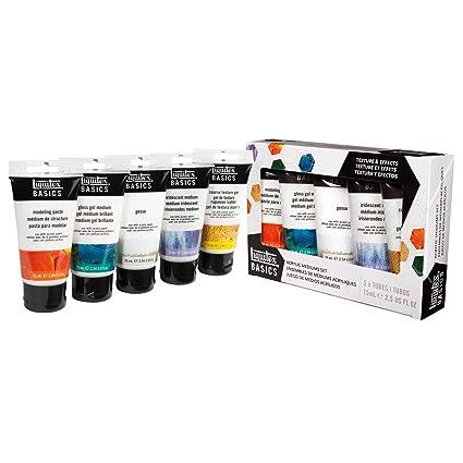 Amazoncom Liquitex BASICS Acrylic Medium Starter Set