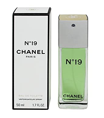 Amazon.com  Chanel No. 19 by Chanel for Women 1.7 oz Eau de Toilette Spray   Beauty 3d666d56d6