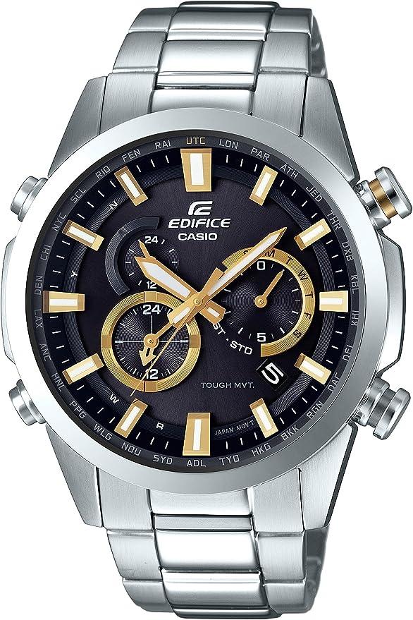 [カシオ] 腕時計 エディフィス 電波ソーラー EQW-T640D-1A9JF シルバー