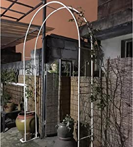 YYHJ Metal Pergola Arbor,Garden Arches Wedding Arch,for Various Climbing Plant Roses Vines Bridal Party Decoration Pergola Arbors
