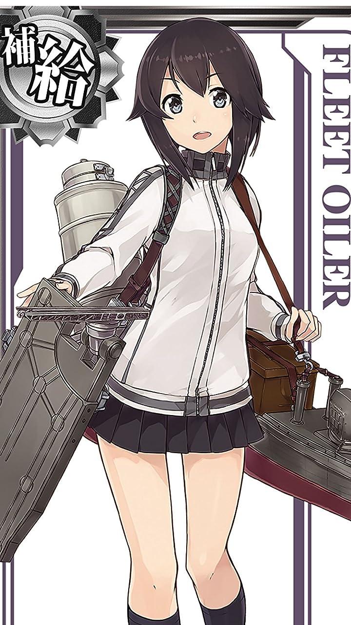 艦隊これくしょん 艦これ Hd 720 1280 壁紙 給油艦 速吸 アニメ